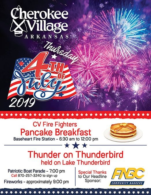 Cherokee Village 4th of July Events